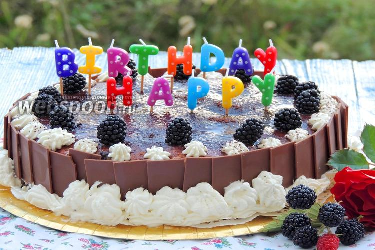 торт с пудингом рецепт фото