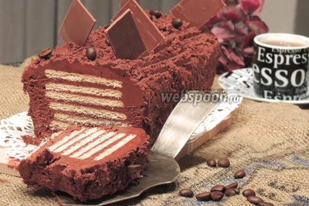 Пирожное «Шоколадные ломтики»