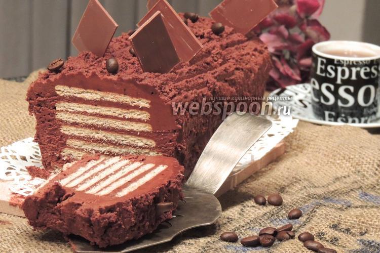 Фото Пирожное «Шоколадные ломтики»