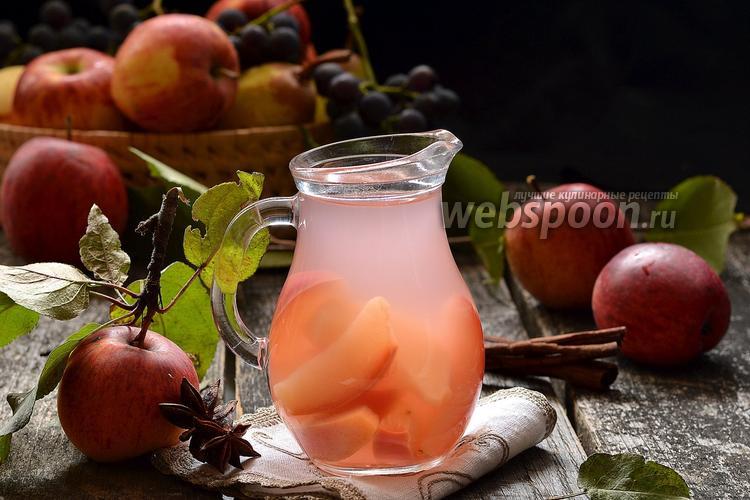 Фото Компот из яблок