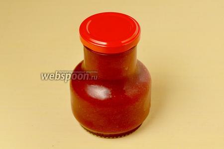 Накрываем крышками (укупорка негерметичная), храним в холодильнике. Калина на меду получается очень вкусной и почти не горчит.