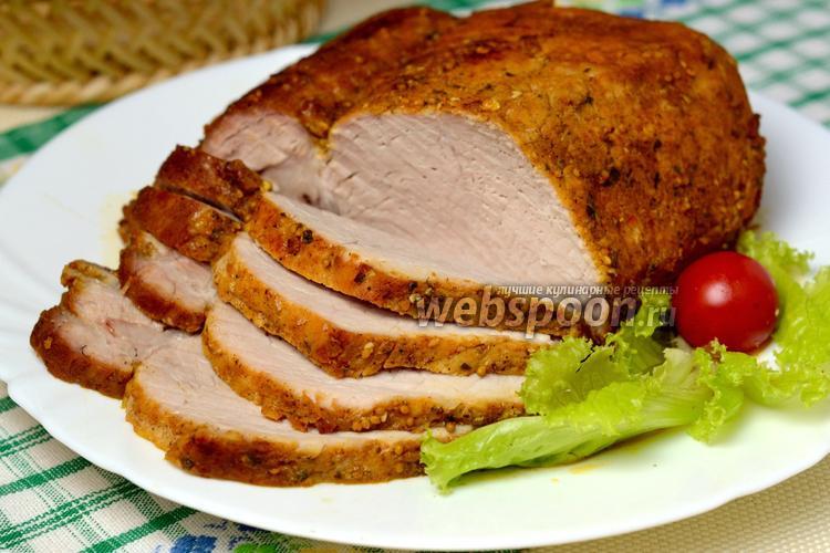 Рецепт Сочная свинина в мультиварке