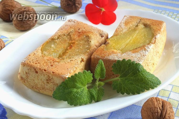Рецепт Шарлотка с грушами