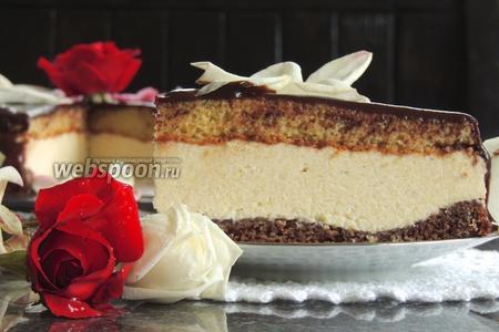 Торт «Птичье молоко» с манкой