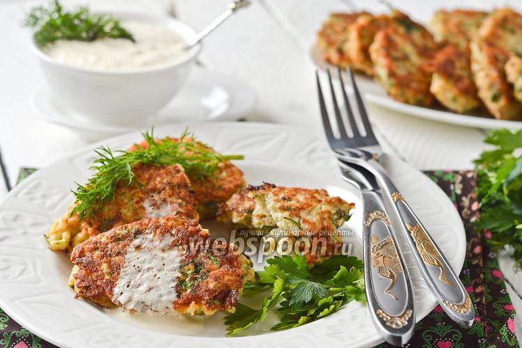 Рецепт Котлеты из цветной капусты с курицей