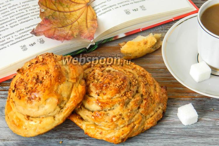 Рецепт Булочки с кунжутной пастой