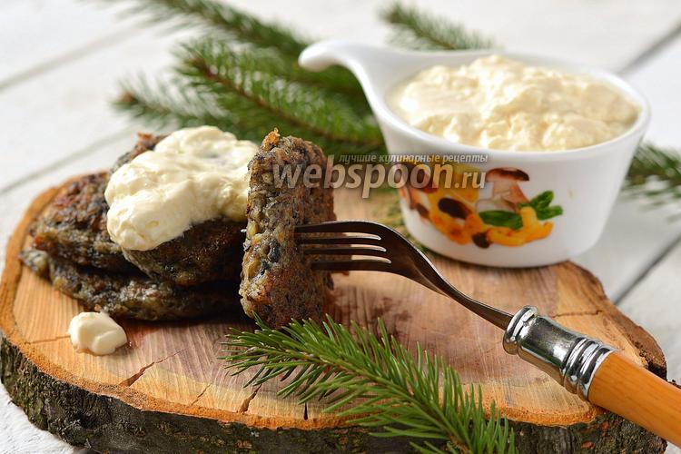 Рецепт Драники с грибами