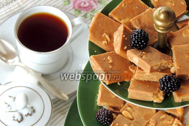 Рецепт Карамельные конфеты с арахисом