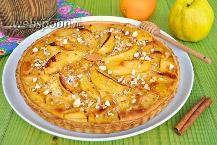 Рецепт Пирог из айвы