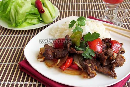 Пулькоги — говядина по-корейски