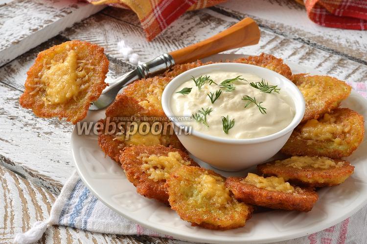 Рецепт Драники с сыром
