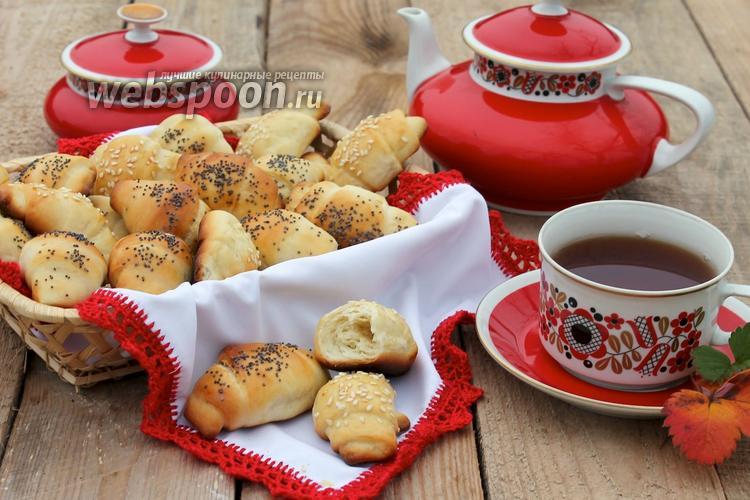 Рецепт Рогалики с маком и кунжутом
