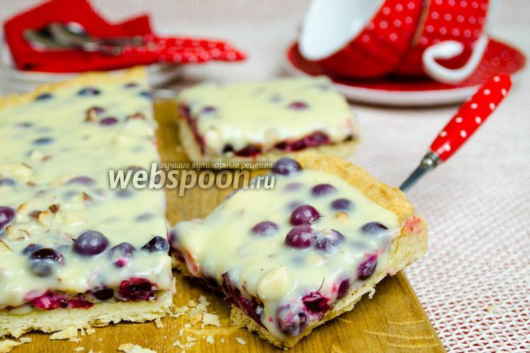 Рецепт Клюквенный тарт с белым шоколадом