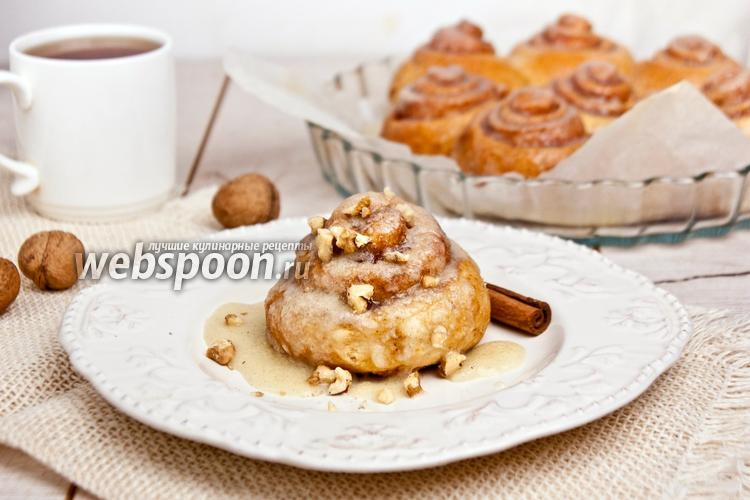Рецепт Булочки с корицей «Cinnabon»