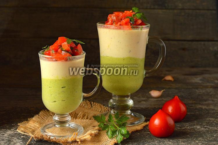 Панна-котта из цветной капусты и брокколи