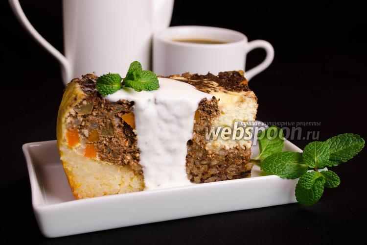 Рецепт Запеканка с тыквой и яблоками в мультиварке