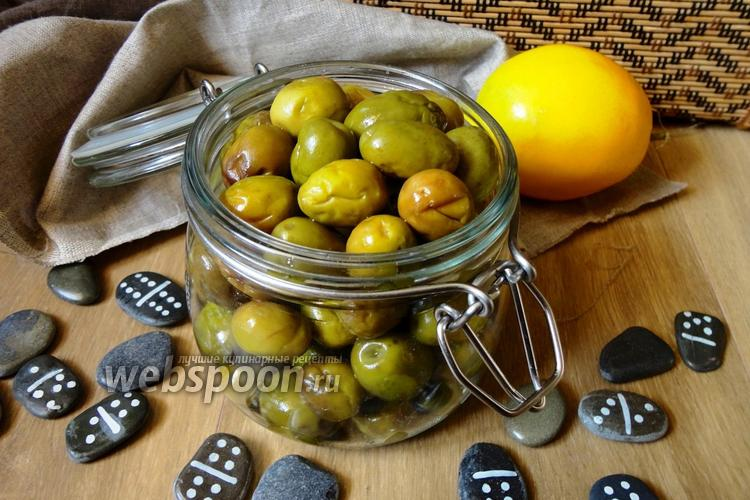 Рецепт Засолка оливок