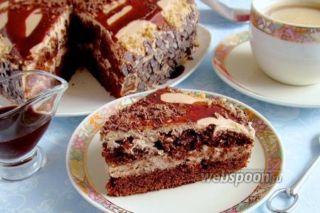 Торт «Шоколад на кипятке»