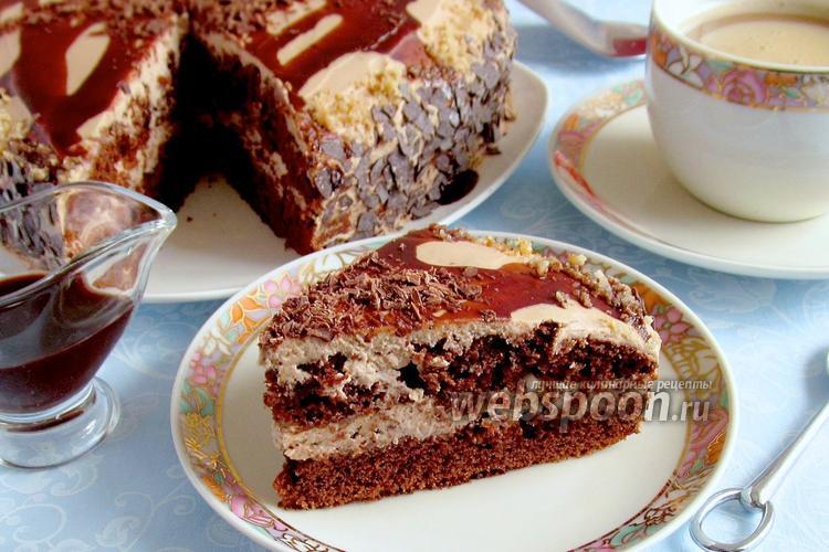 Рецепт Торт «Шоколад на кипятке»