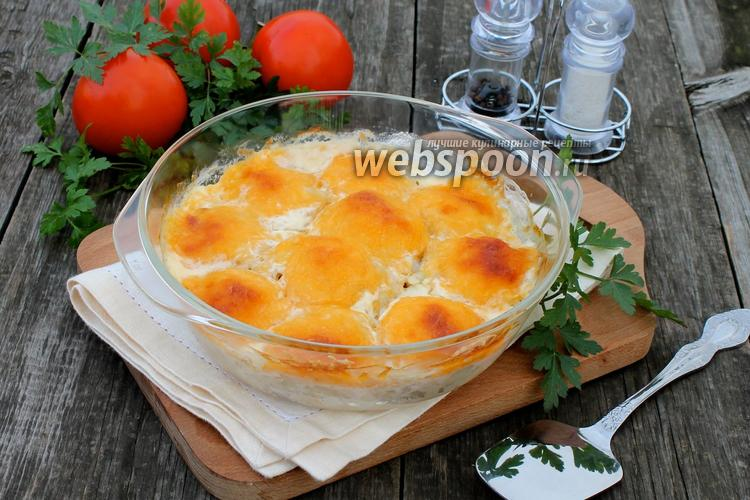 Рецепт Куриные шарики в сливочном соусе