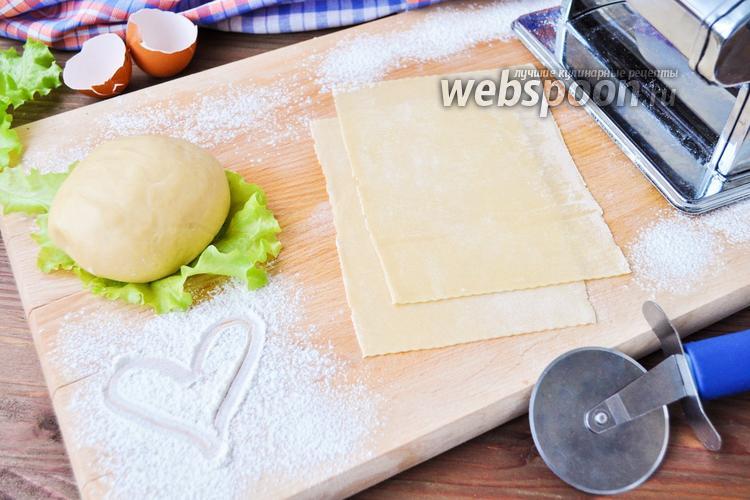 Рецепт Тесто для лазаньи