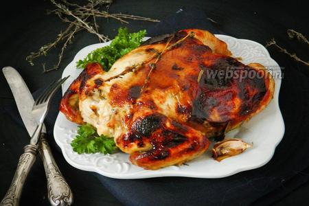 Фаршированный цыплёнок