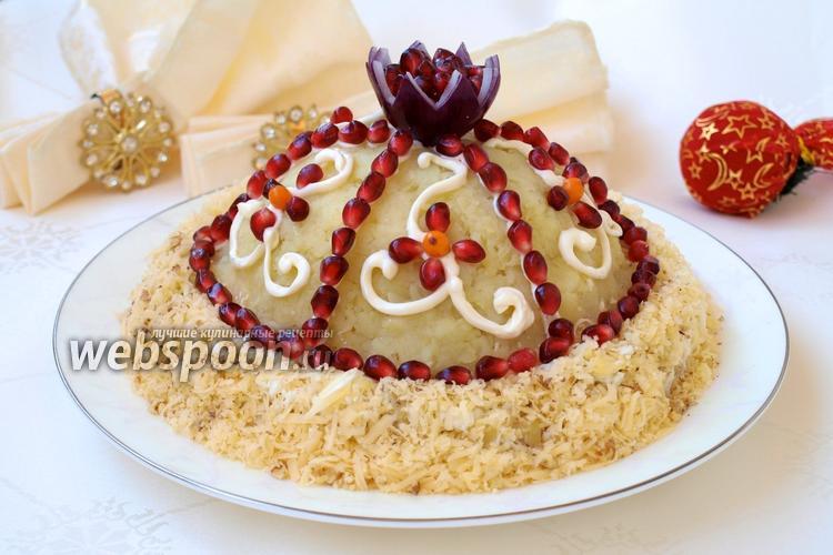 Рецепт Салат «Шапка Мономаха»