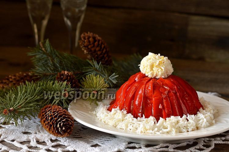 Рецепт Салат «Красная шапочка»