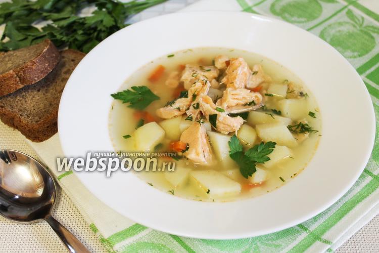 Фото Рыбный суп с сёмгой