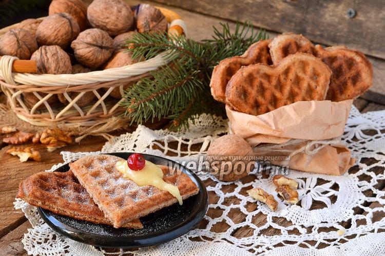 Рецепт Ореховые вафли