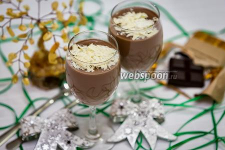 Шоколадная панна-котта