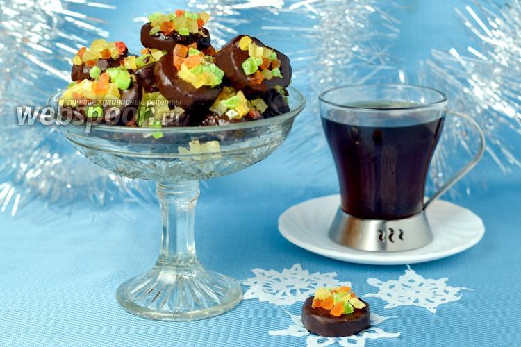 Рецепт Конфеты «Банан в шоколаде»