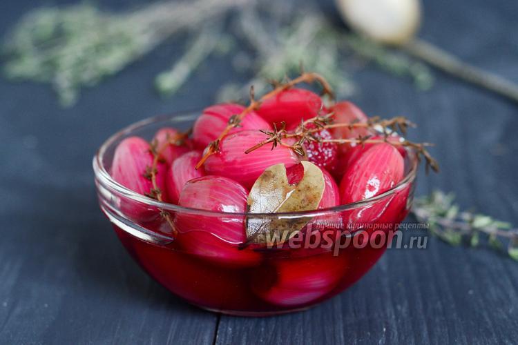 Рецепт Маринованный лук-шалот