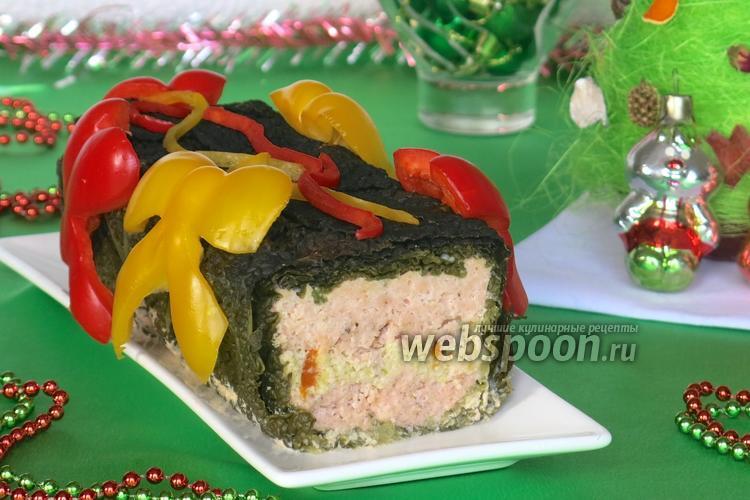 Рецепт Террин рыбный «Новогодний подарок»
