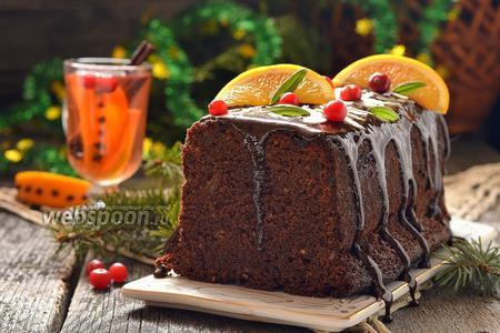 Кекс с шоколадом и красным вином «Новогодний глинтвейн»