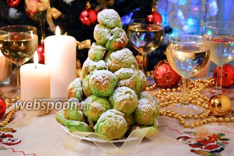 Рецепт Новогодний крокембуш