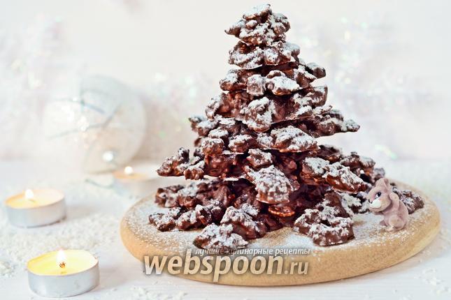 Фото Шоколадная ёлка
