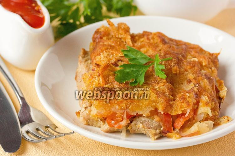 Рецепт Индюшиное филе, запечённое под аппетитной корочкой
