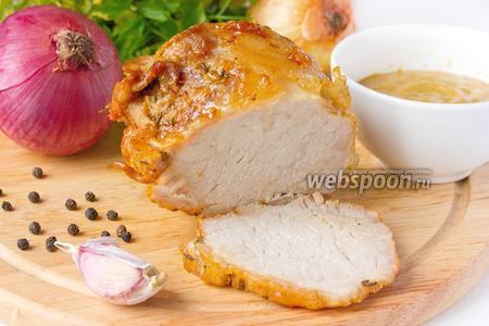 Свинина, приготовленная в сливочном масле