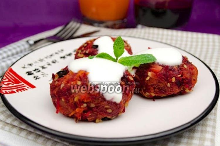 Фото Вегетарианские овощные котлеты на пару