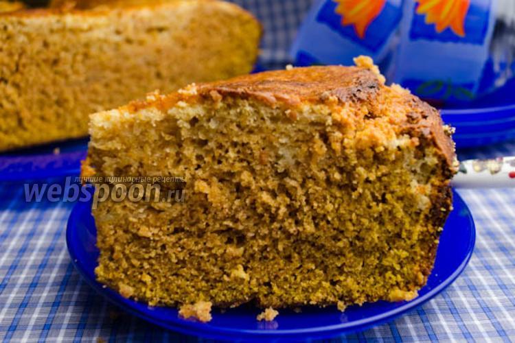 Фото Тыквенный пирог с крем-сыром