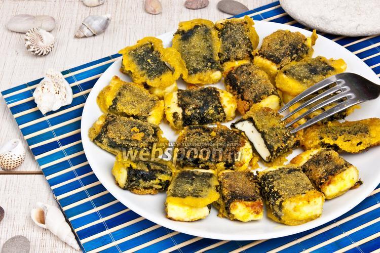 Рецепт Жареный сыр в нори