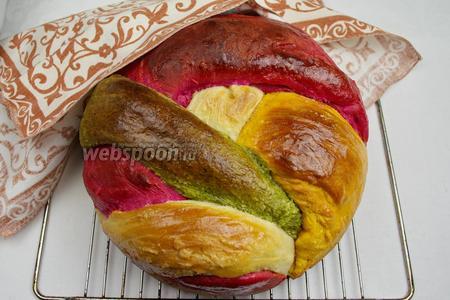 Цвета у хлеба второй выпечки более сочные и яркие.