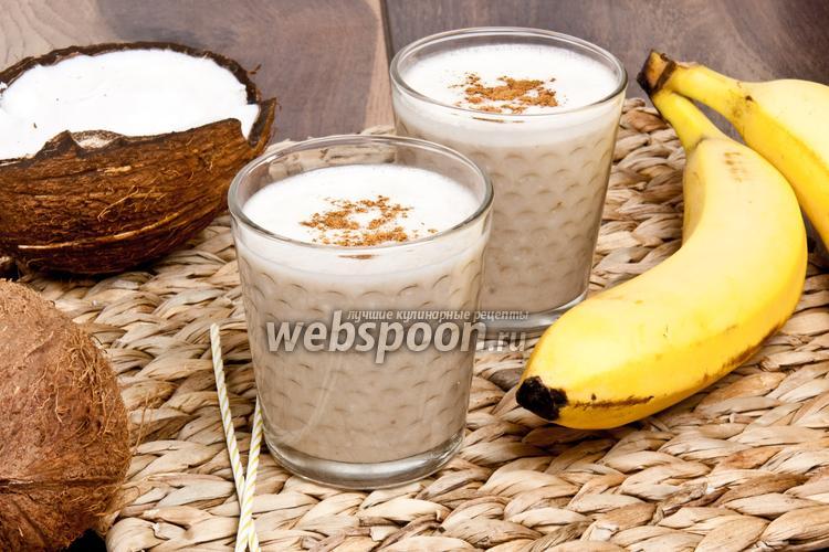 Рецепт Кокосово-имбирный смузи
