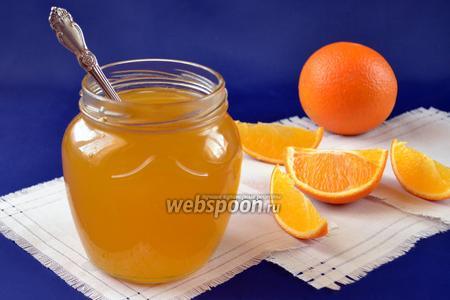 Апельсиново-имбирный сироп