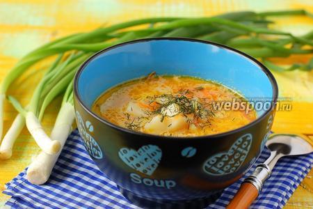 «Жареный» суп