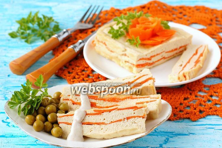 Фото Куриное суфле с морковью в микроволновке