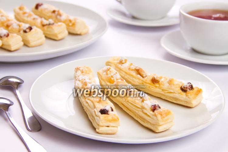 Рецепт Фруктово-ореховые палочки