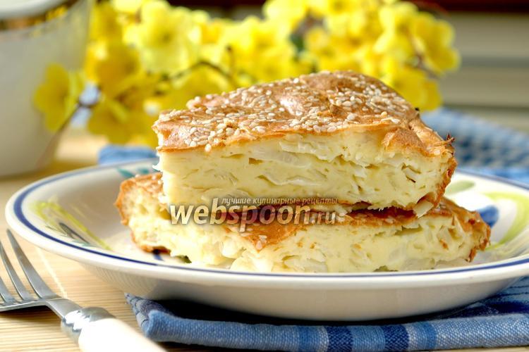 Рецепт Капустный заливной пирог