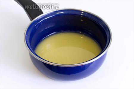 Сливочное масло растопите и остудите.